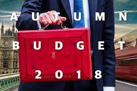 Chancellor's Budget 2018